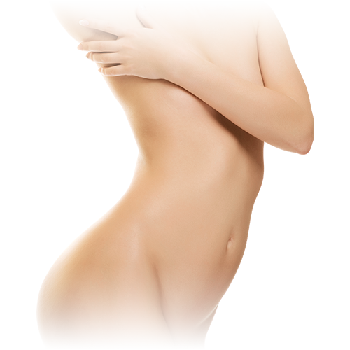 Haarentfernung für Dekolleté, Brust & Bauch
