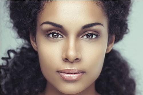 Haarentfernung für das Gesicht, Wangen, Oberlippe und Kinn